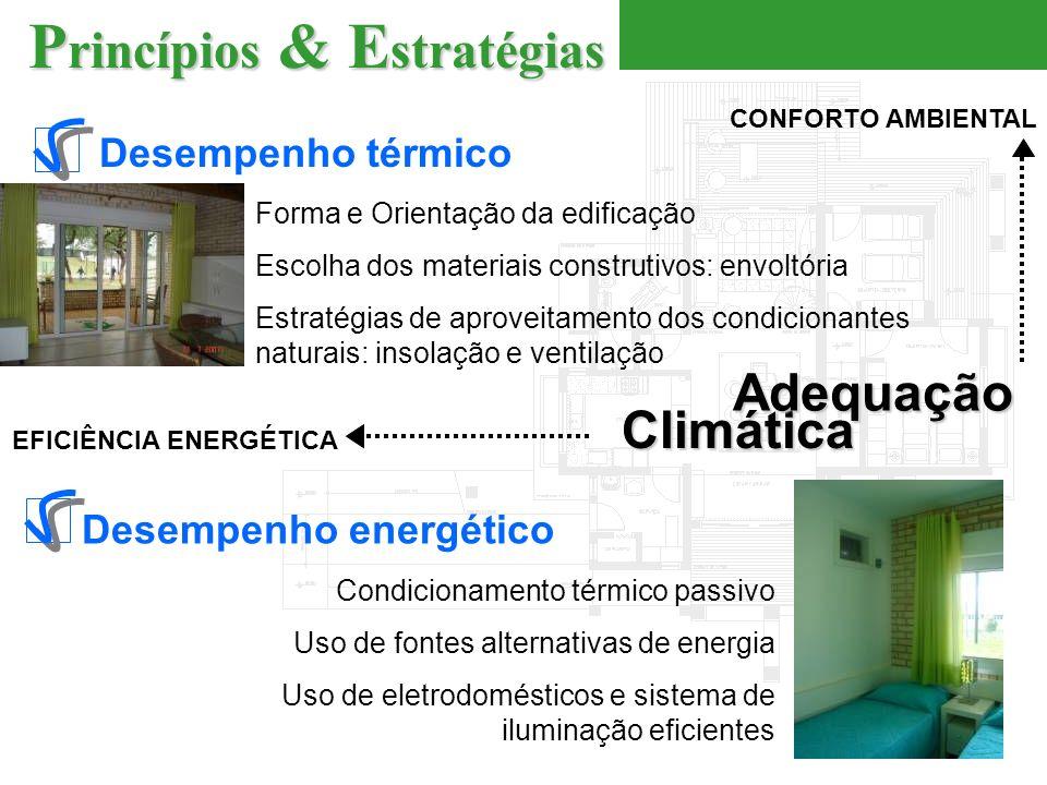 EFICIÊNCIA ENERGÉTICA Desempenho energético