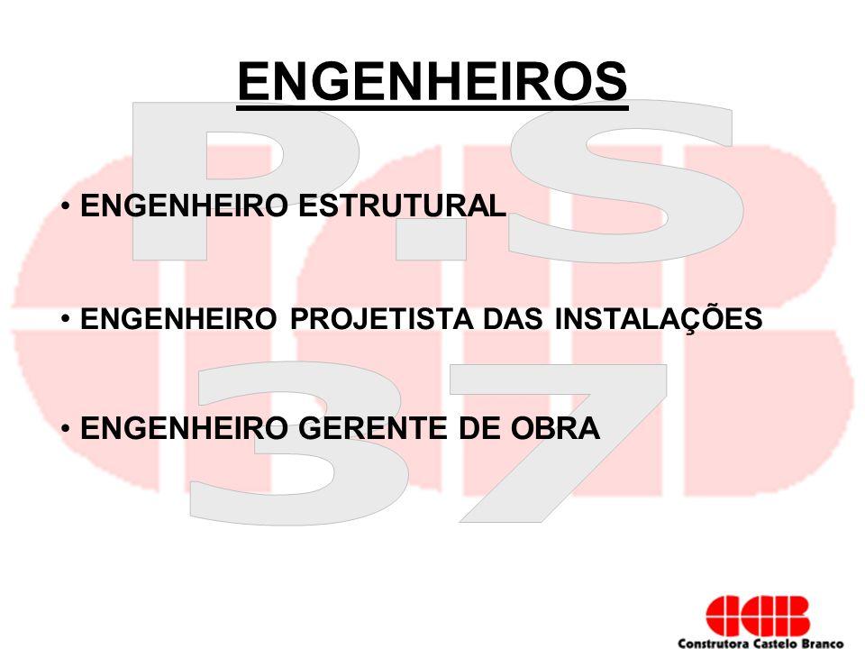 ENGENHEIROS ENGENHEIRO ESTRUTURAL