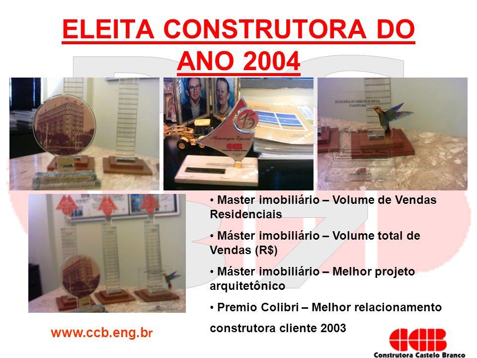 ELEITA CONSTRUTORA DO ANO 2004