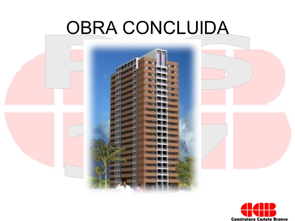 OBRA CONCLUIDA