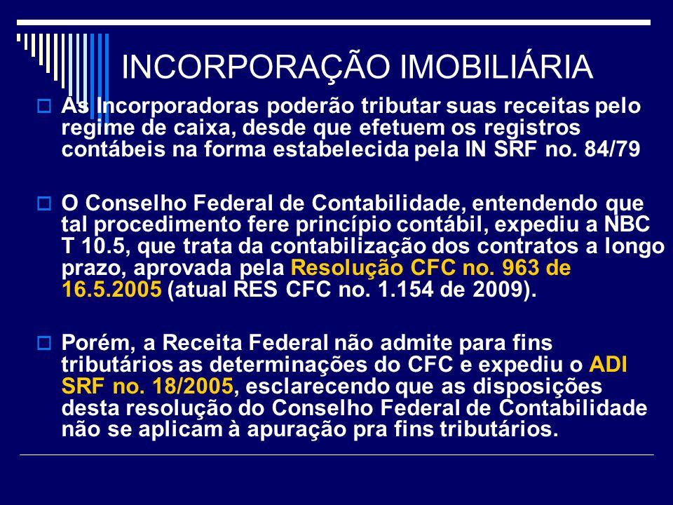 INCORPORAÇÃO IMOBILIÁRIA