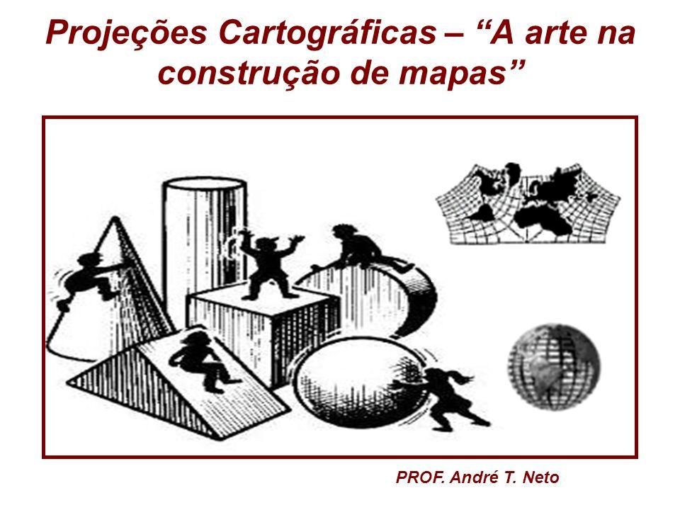 Projeções Cartográficas – A arte na construção de mapas