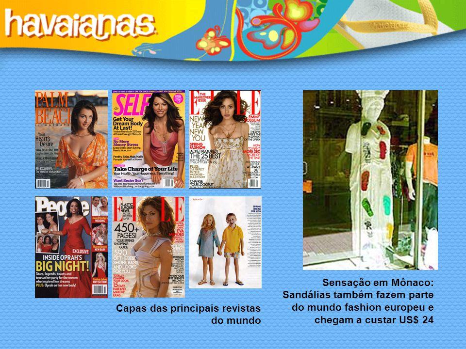 Sensação em Mônaco: Sandálias também fazem parte do mundo fashion europeu e chegam a custar US$ 24