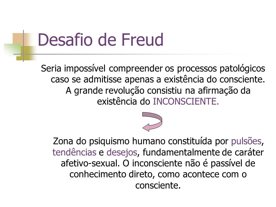 Desafio de Freud