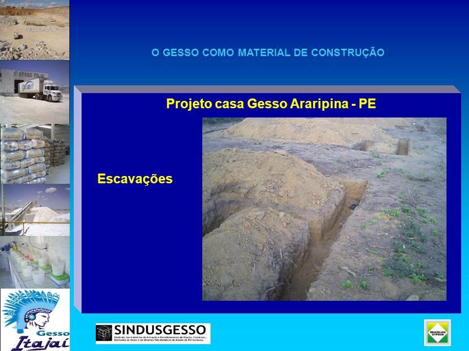 Projeto casa Gesso Araripina - PE