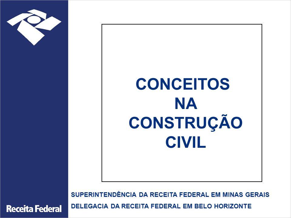 CONCEITOS NA CONSTRUÇÃO CIVIL