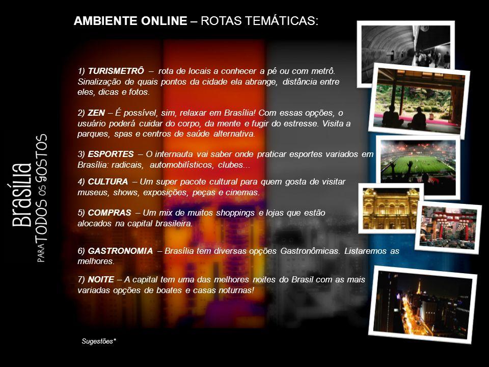 AMBIENTE ONLINE – ROTAS TEMÁTICAS: