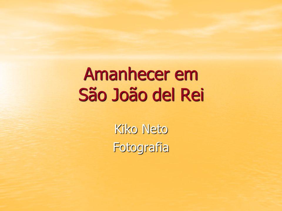 Amanhecer em São João del Rei