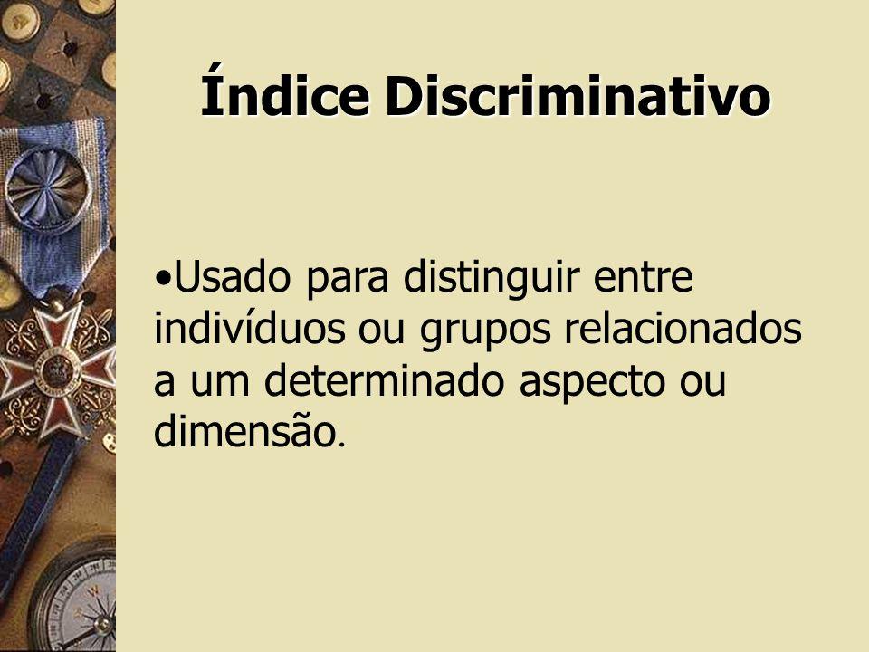Índice Discriminativo