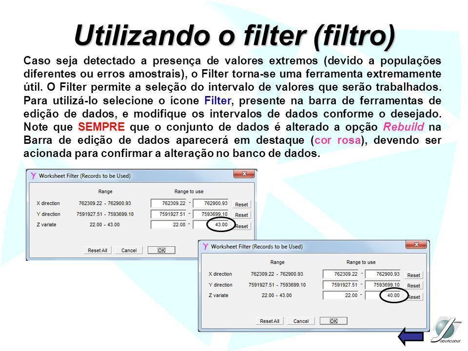Utilizando o filter (filtro)