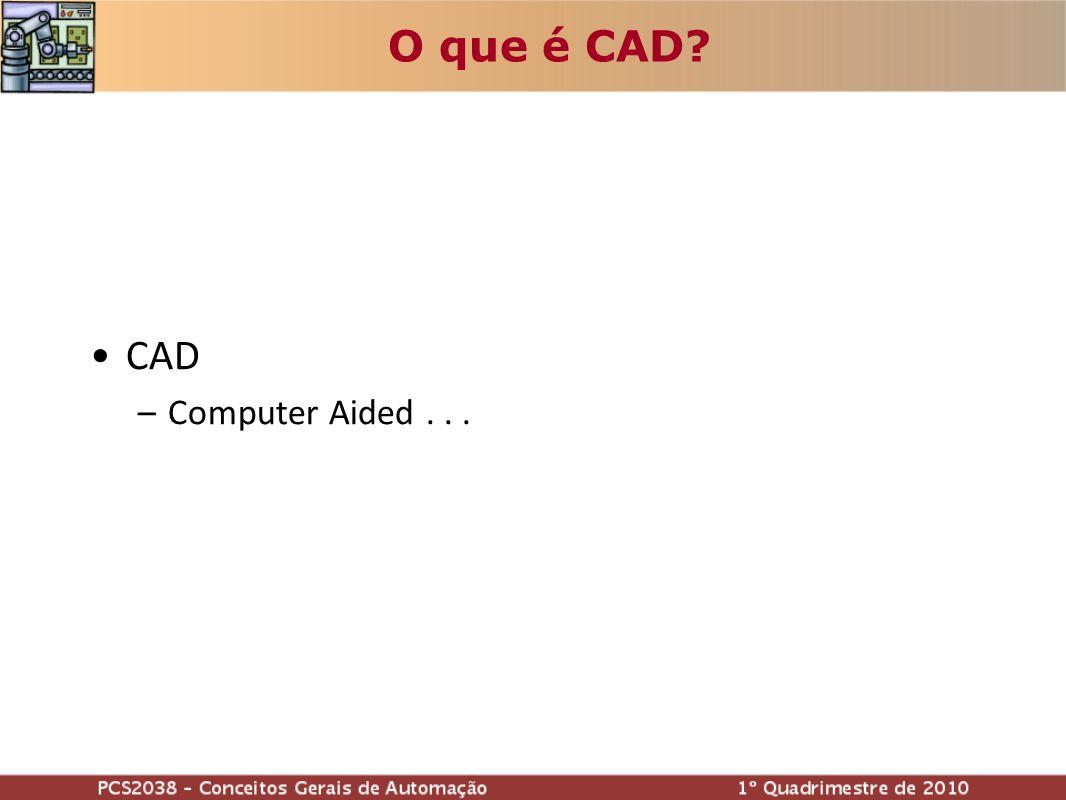 O que é CAD CAD Computer Aided . . . Russo 12 min