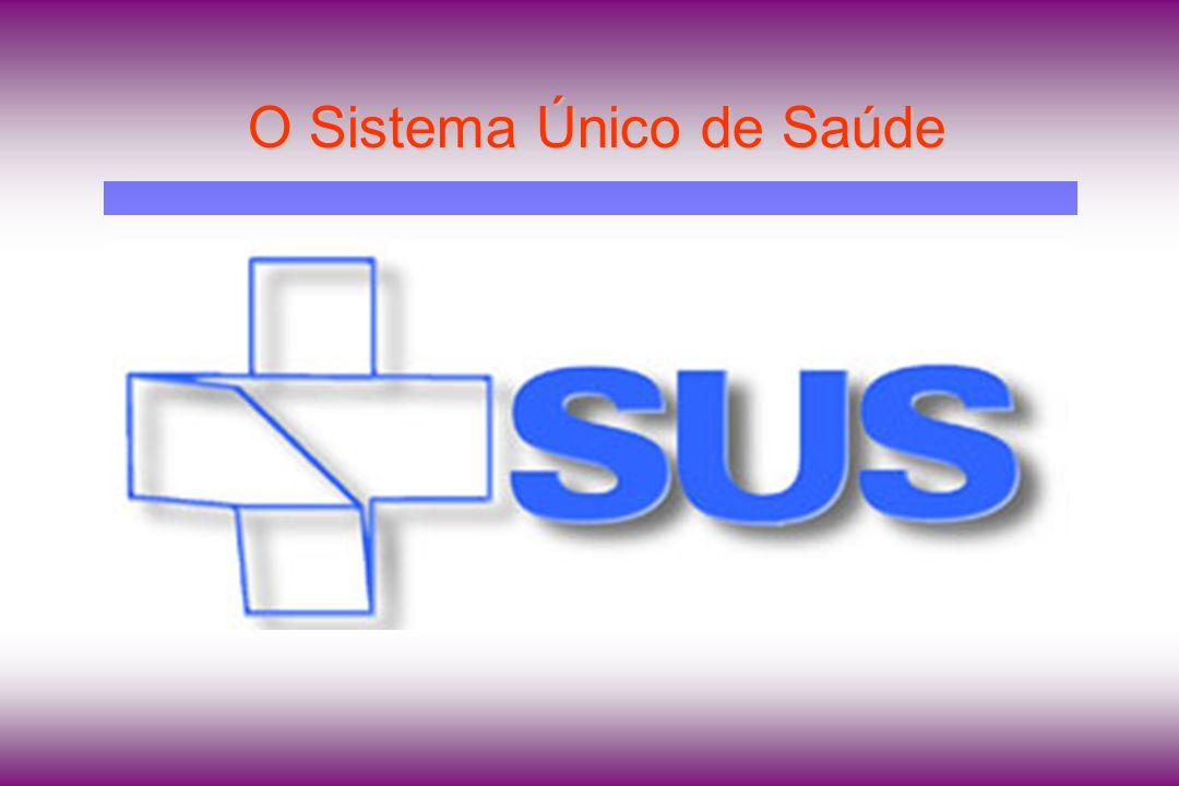 O Sistema Único de Saúde