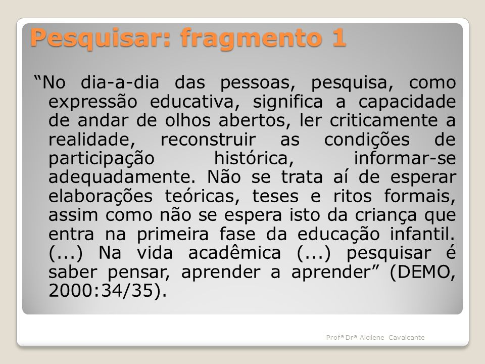 Pesquisar: fragmento 1