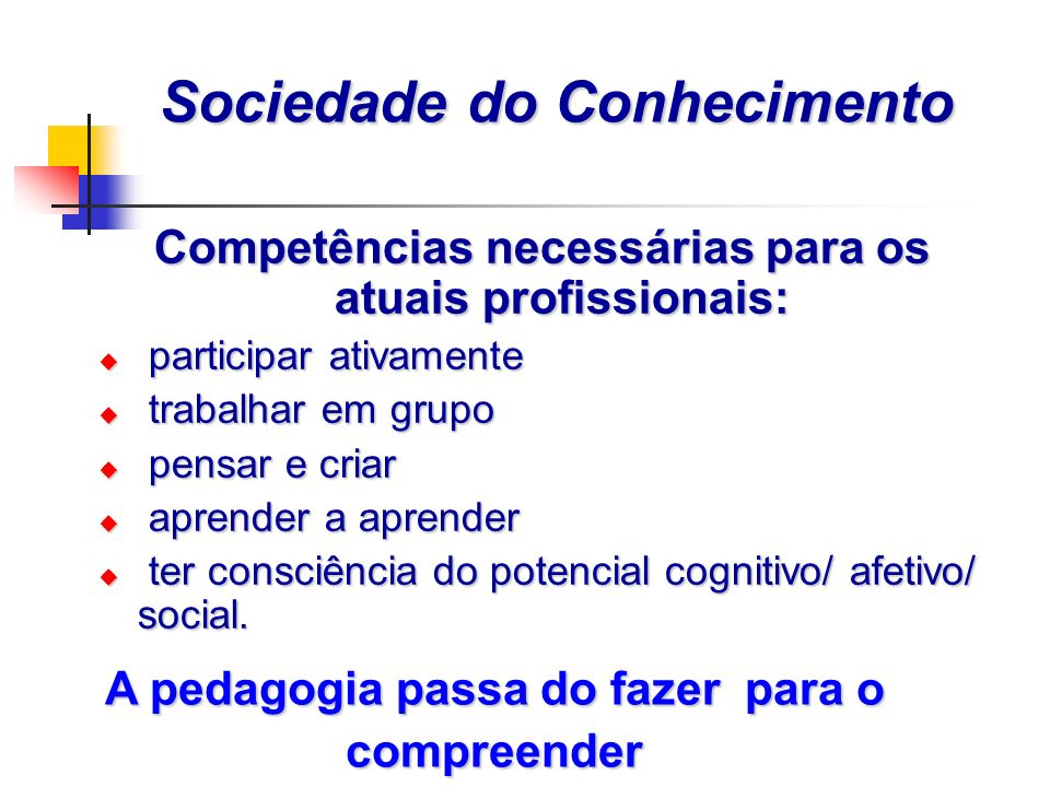 Sociedade do Conhecimento