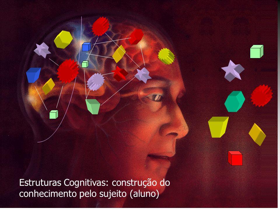 Estruturas Cognitivas: construção do conhecimento pelo sujeito (aluno)
