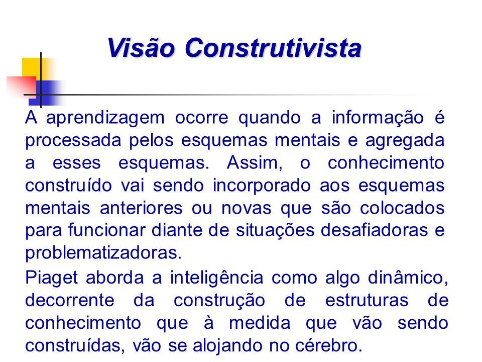 Visão Construtivista
