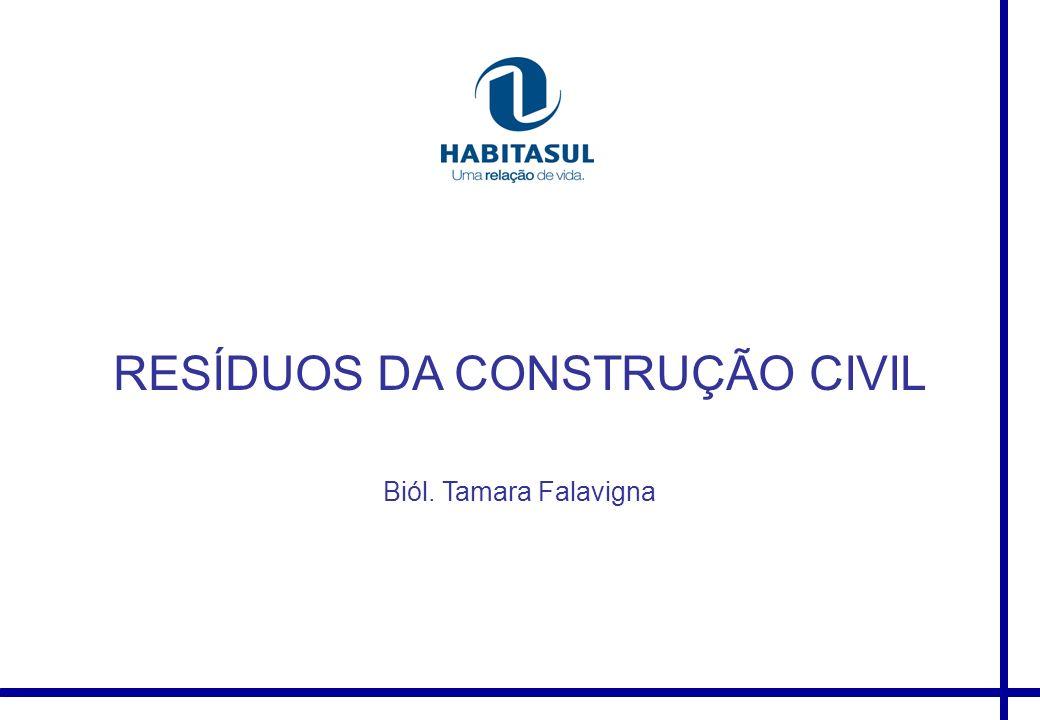 RESÍDUOS DA CONSTRUÇÃO CIVIL