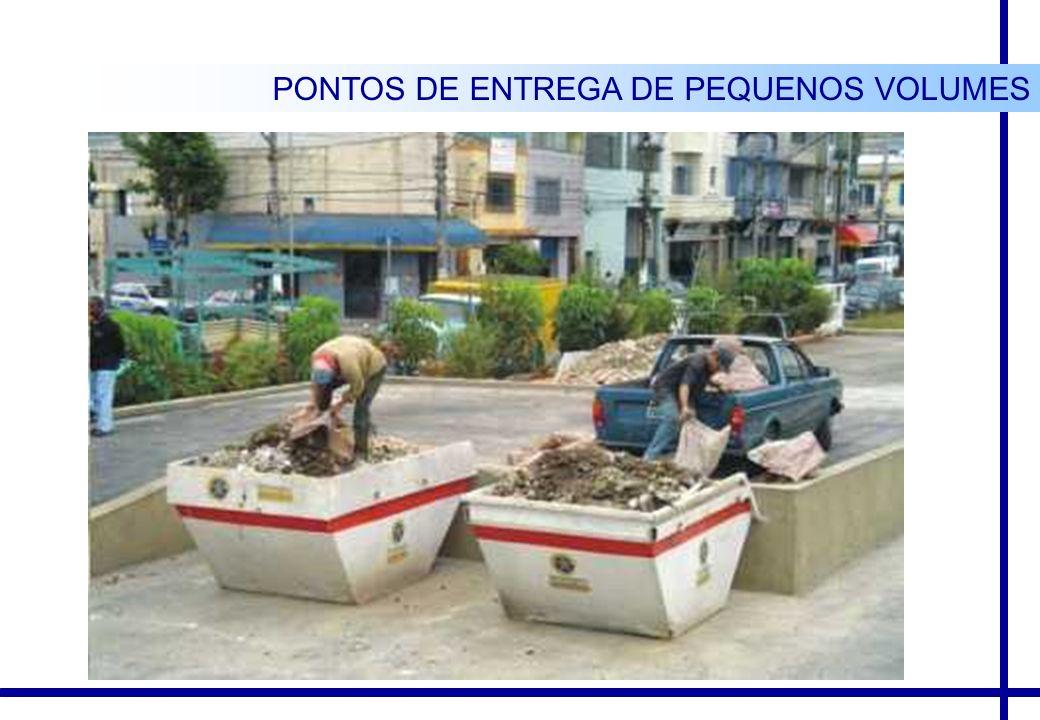 PONTOS DE ENTREGA DE PEQUENOS VOLUMES