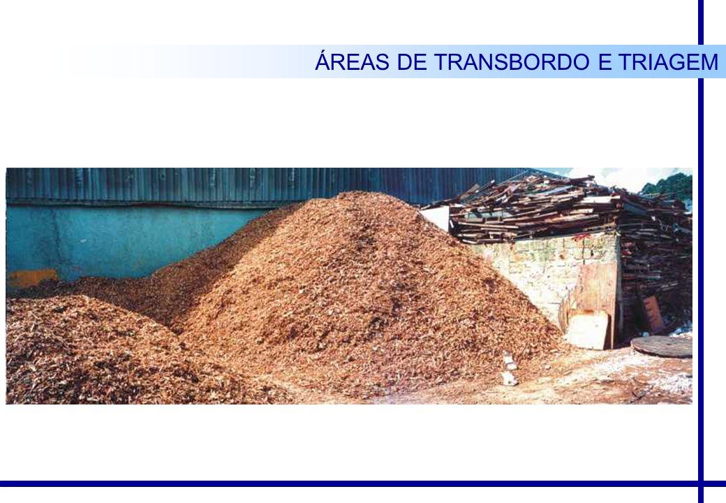 ÁREAS DE TRANSBORDO E TRIAGEM