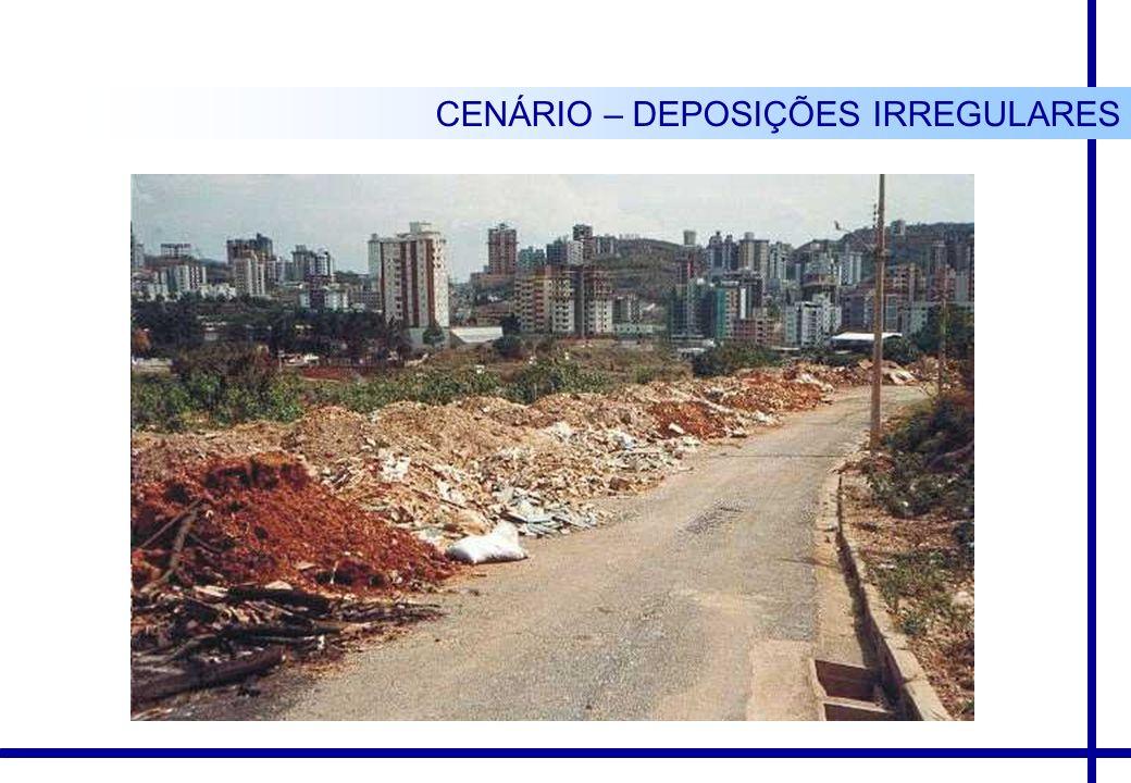 CENÁRIO – DEPOSIÇÕES IRREGULARES