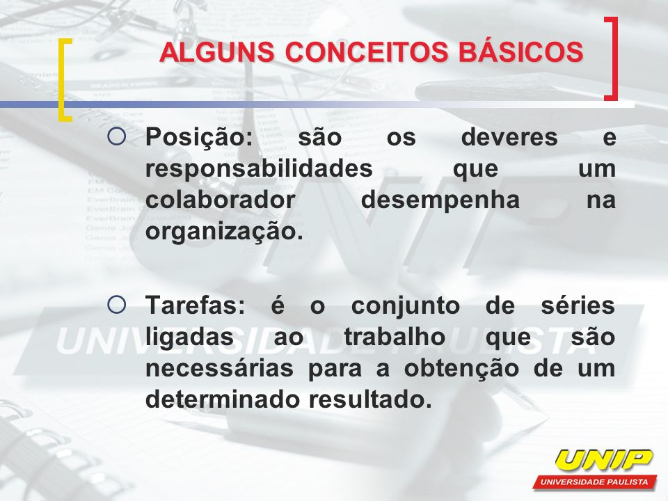 ALGUNS CONCEITOS BÁSICOS