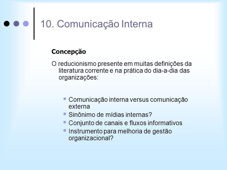 10. Comunicação Interna Concepção