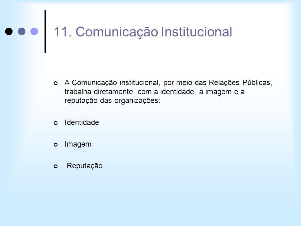 11. Comunicação Institucional