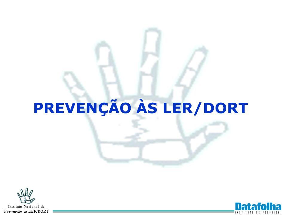 PREVENÇÃO ÀS LER/DORT