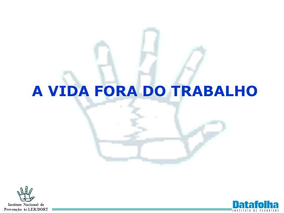 A VIDA FORA DO TRABALHO