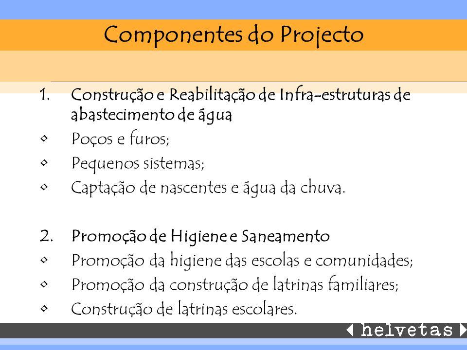 Componentes do Projecto