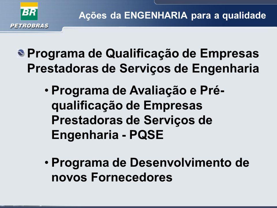 Programa de Desenvolvimento de novos Fornecedores