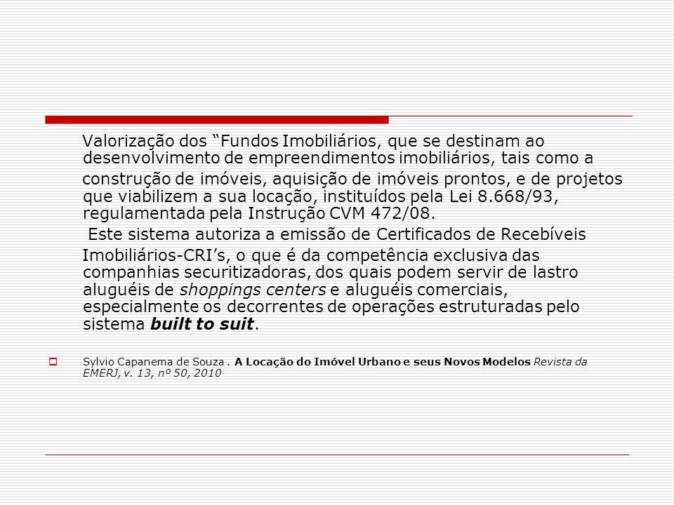 Este sistema autoriza a emissão de Certificados de Recebíveis