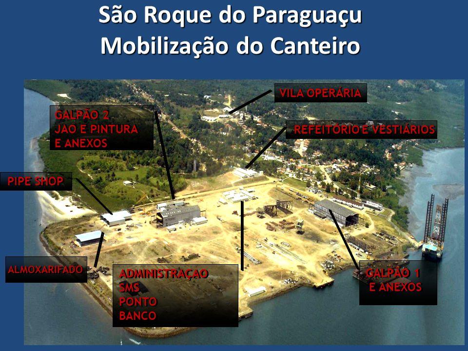 São Roque do Paraguaçu Mobilização do Canteiro