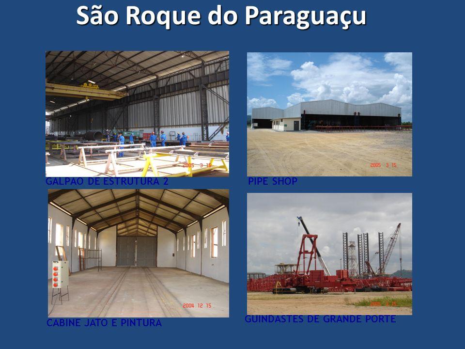 São Roque do Paraguaçu GALPÃO DE ESTRUTURA 2 PIPE SHOP