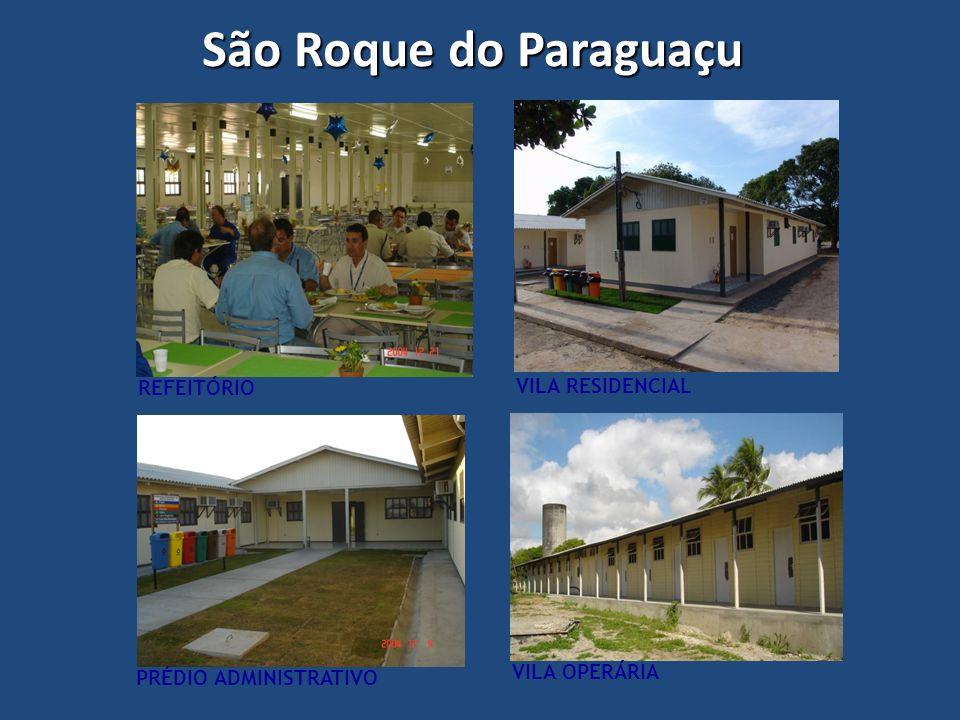 São Roque do Paraguaçu REFEITÓRIO VILA RESIDENCIAL VILA OPERÁRIA