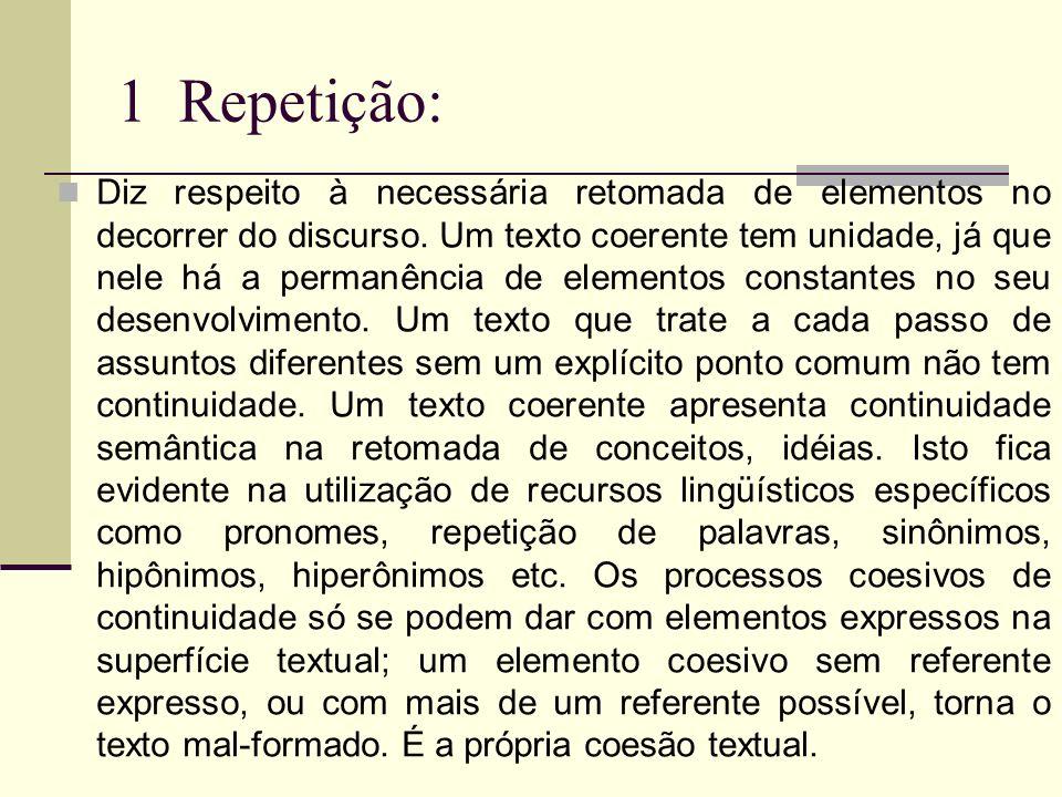 1 Repetição: