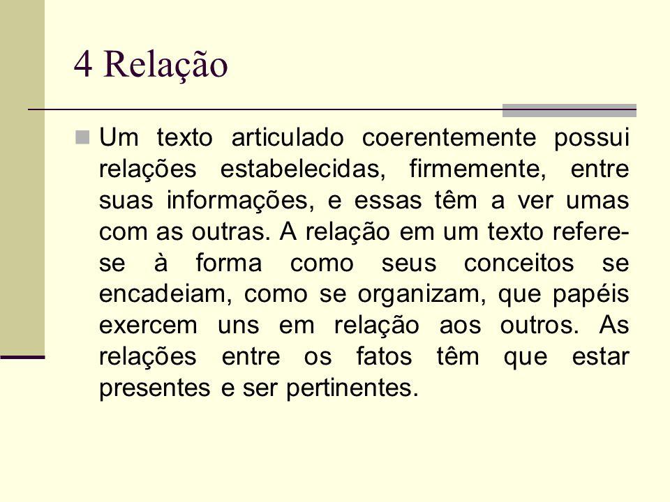 4 Relação