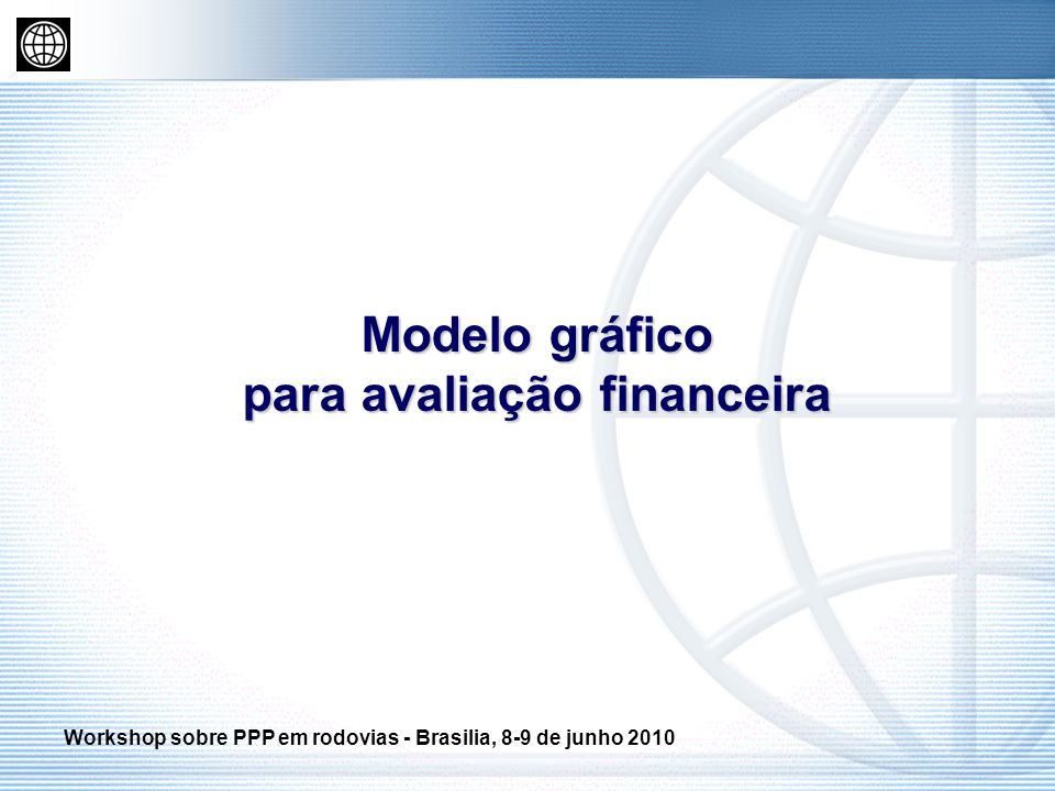 Modelo gráfico para avaliação financeira