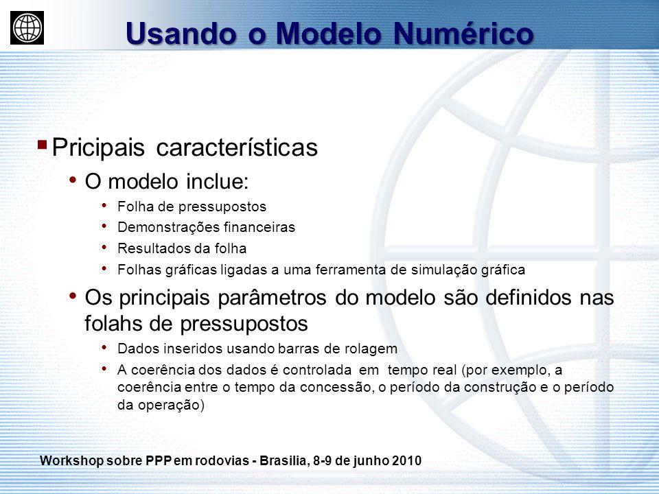 Usando o Modelo Numérico