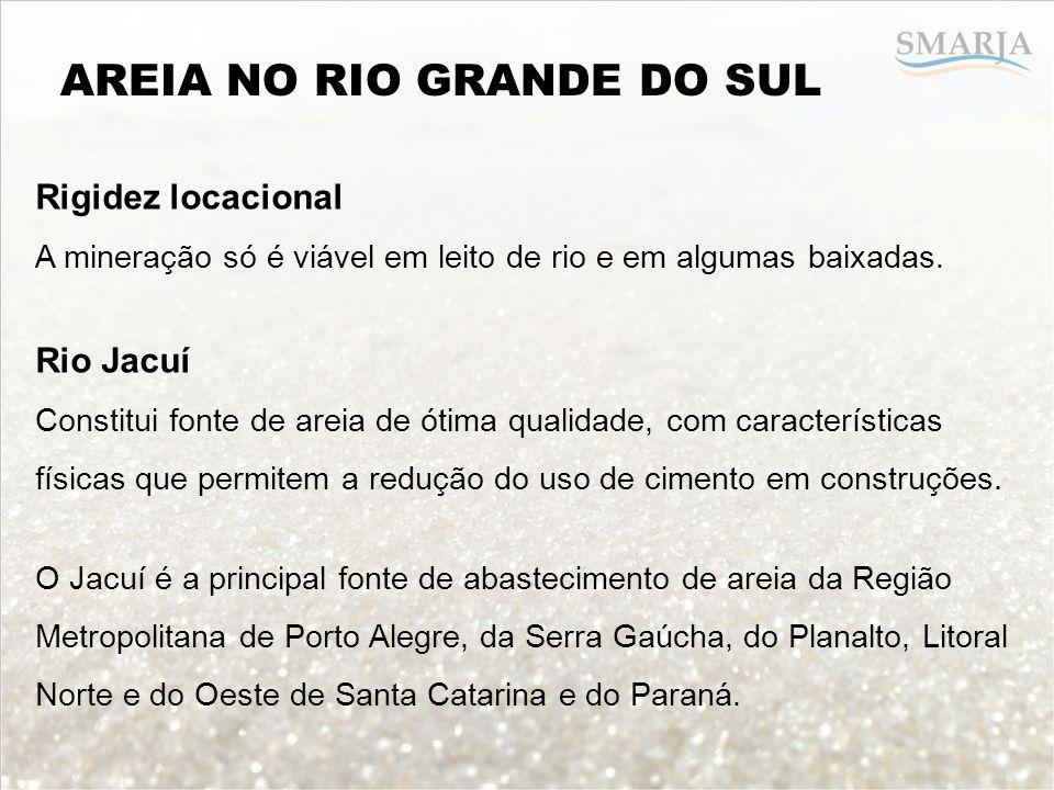 AREIA NO RIO GRANDE DO SUL