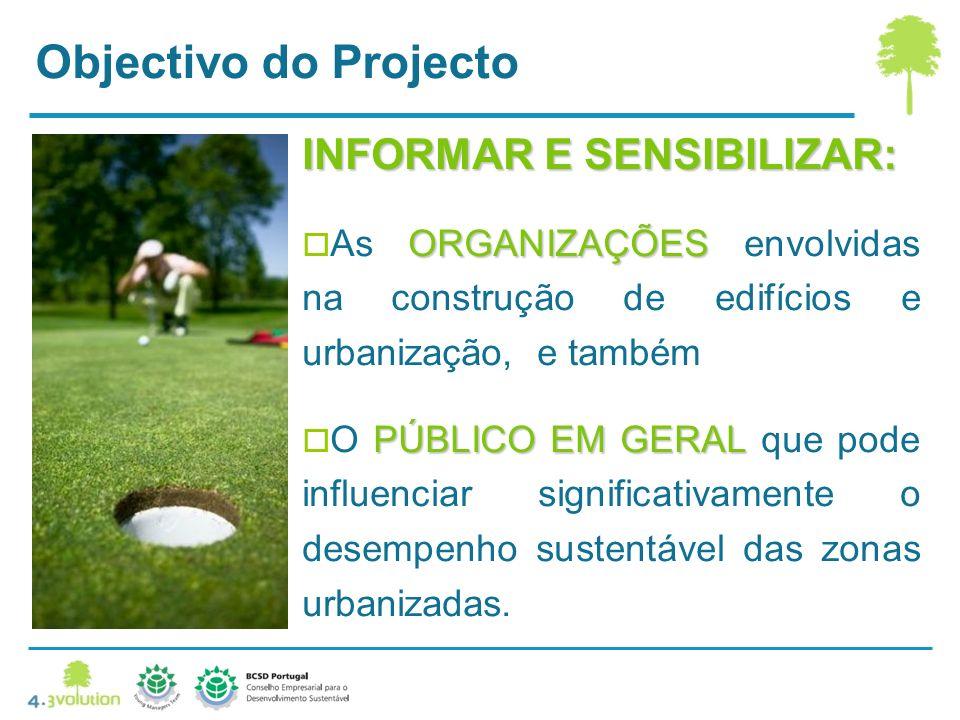 Objectivo do Projecto INFORMAR E SENSIBILIZAR: