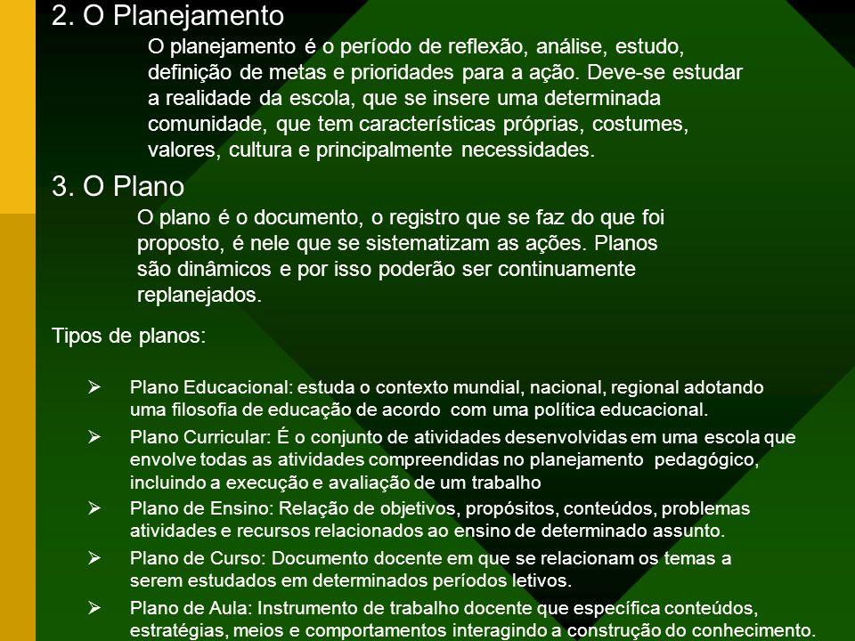 2. O Planejamento