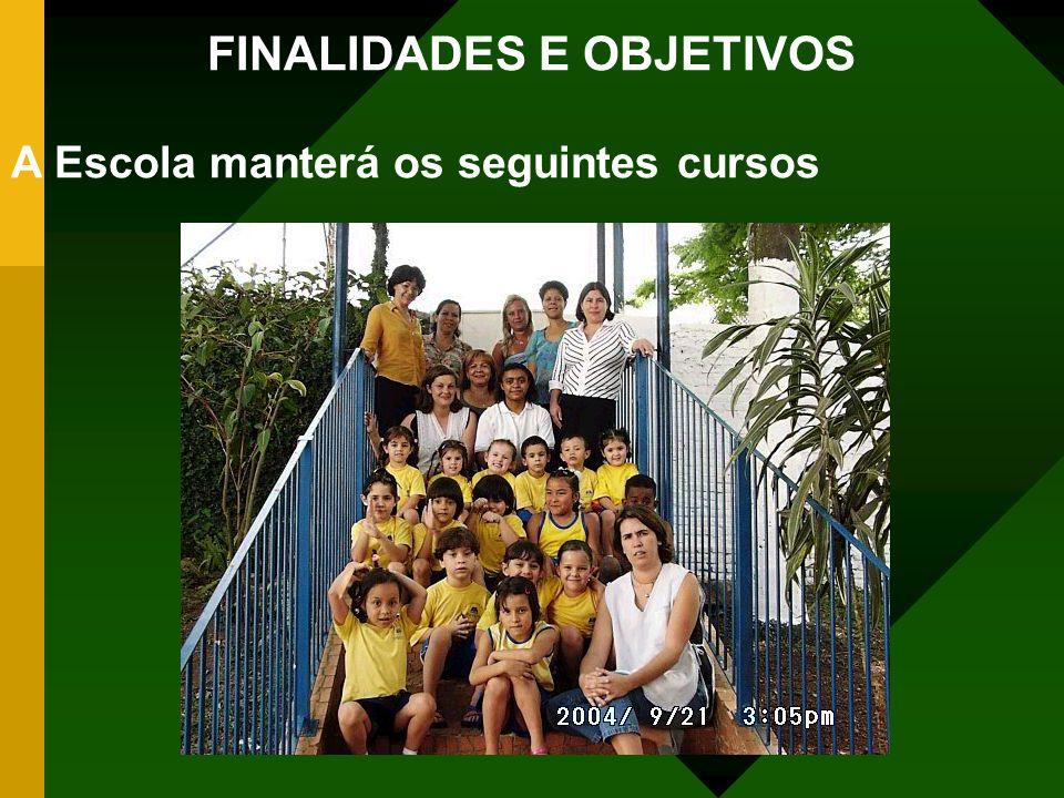 FINALIDADES E OBJETIVOS
