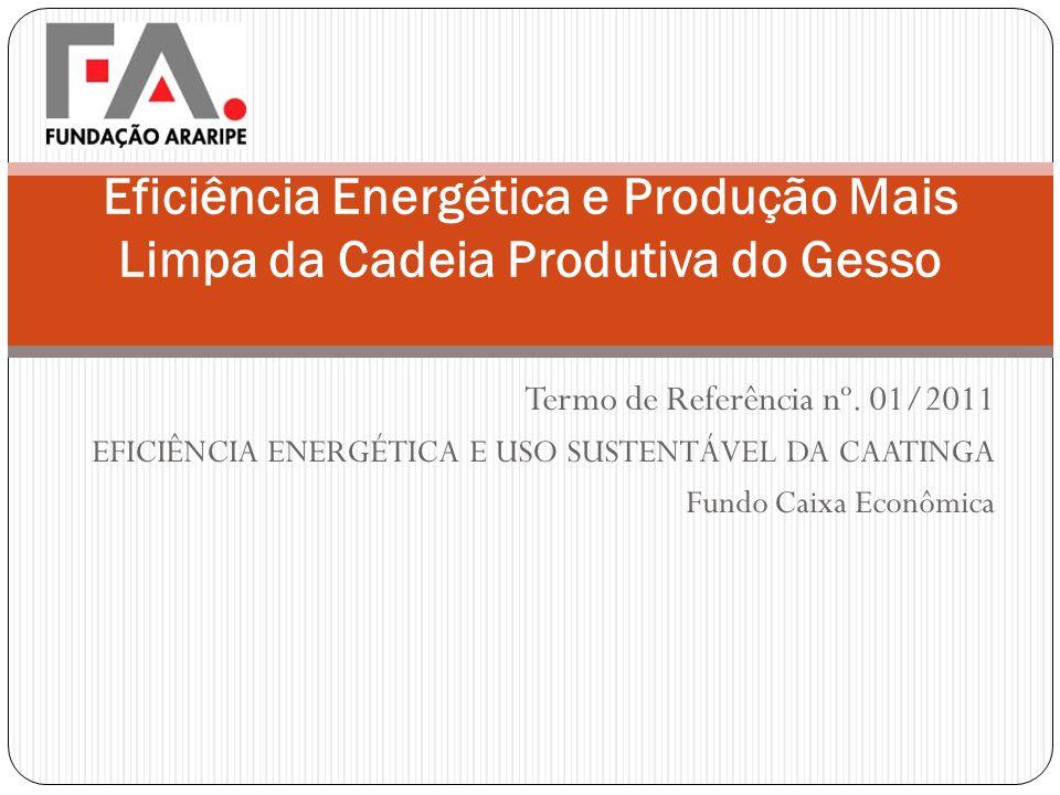 Eficiência Energética e Produção Mais Limpa da Cadeia Produtiva do Gesso