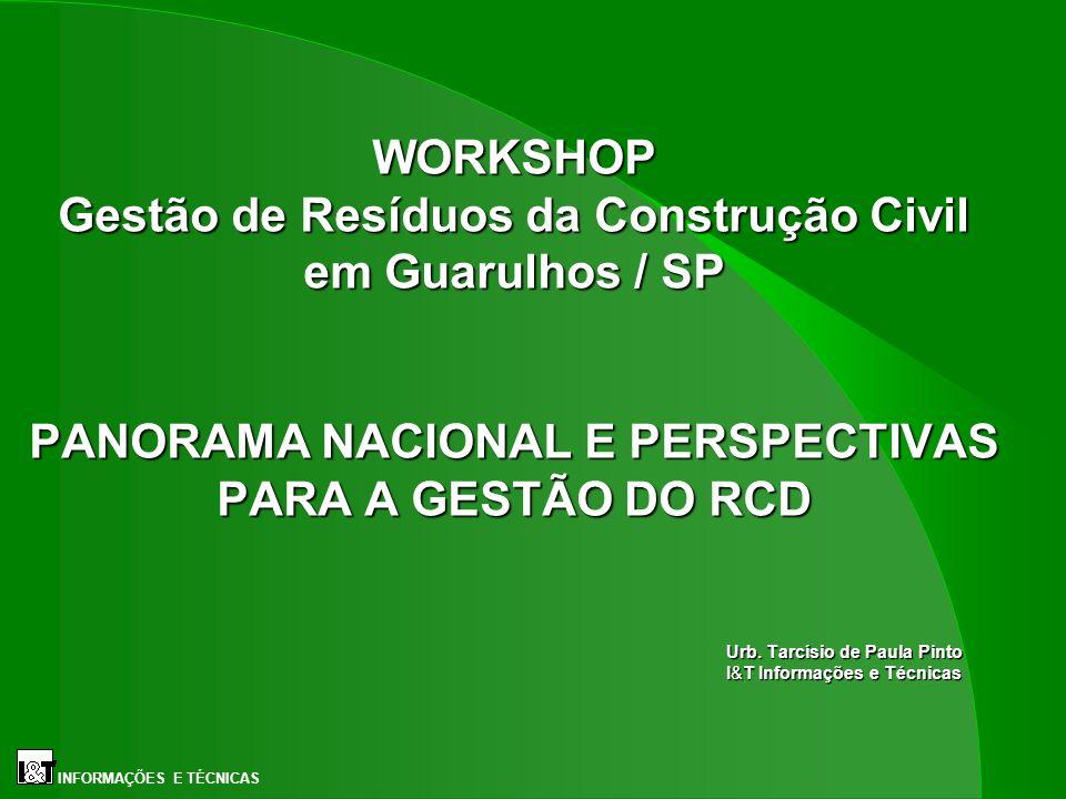 Urb. Tarcísio de Paula Pinto I&T Informações e Técnicas