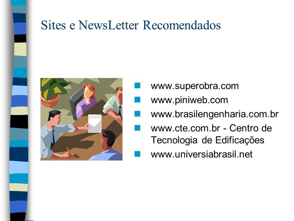 Sites e NewsLetter Recomendados