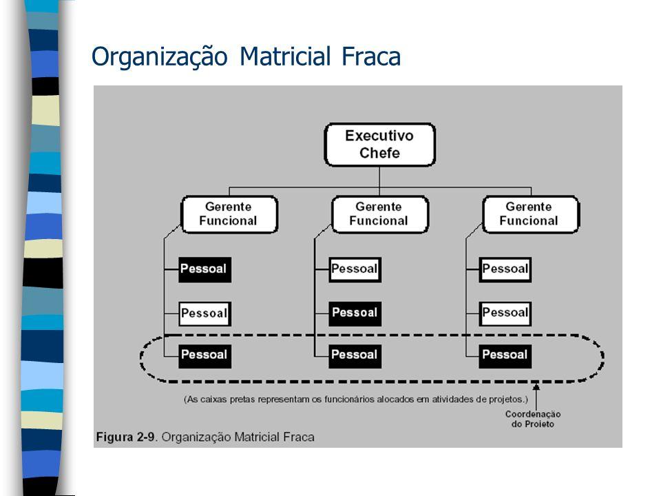 Organização Matricial Fraca