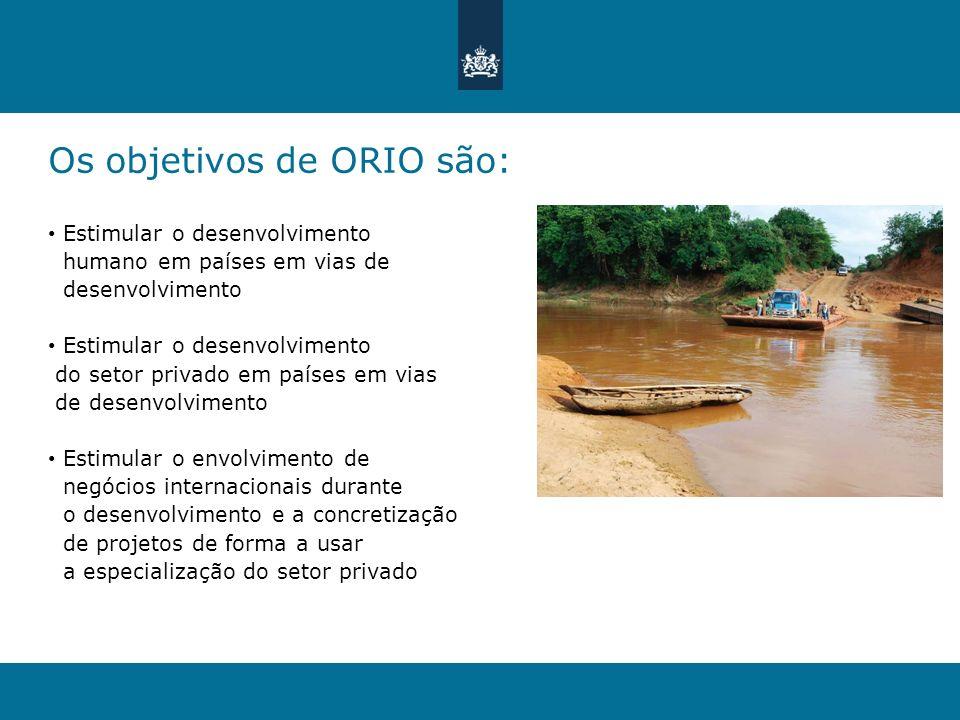 Os objetivos de ORIO são: