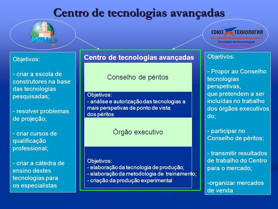 Centro de tecnologias avançadas