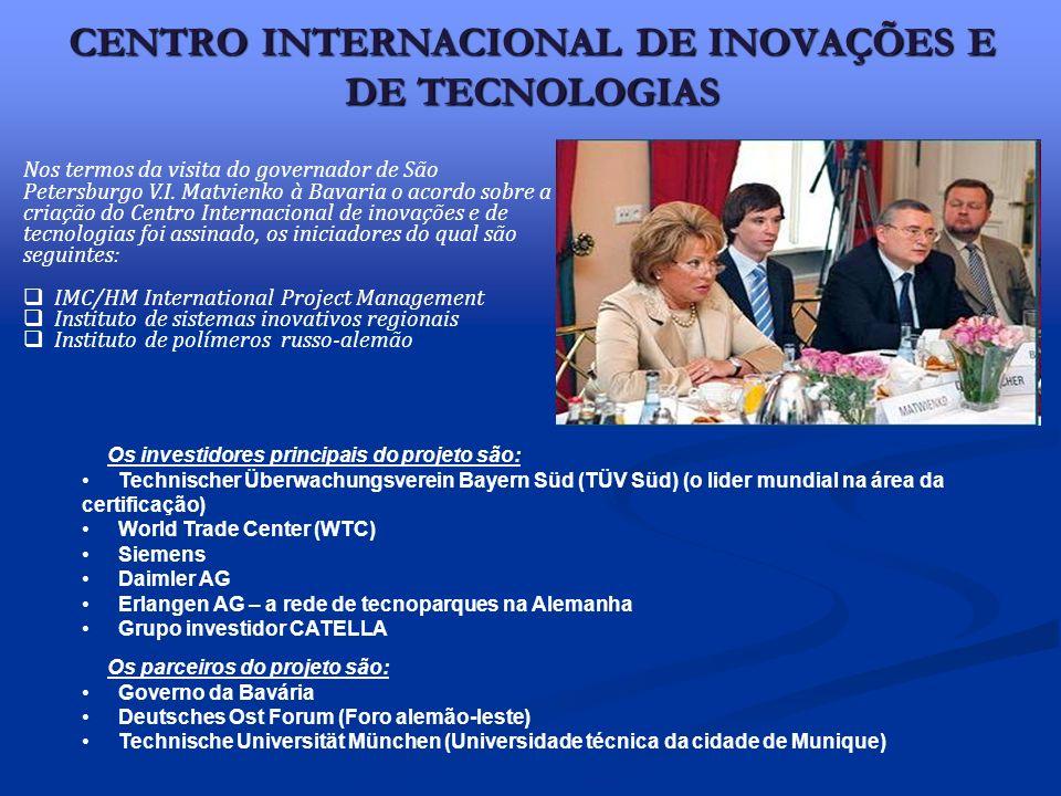 CENTRO INTERNACIONAL DE INOVAÇÕES E DE TECNOLOGIAS